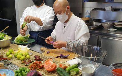 Jeong Kwan aterriza en ACYRE Madrid para mostrar la cocina budista